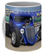 Blue Coupe Coffee Mug