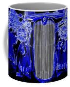 Blue Coupe Coffee Mug