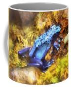Blue Dart Frog Coffee Mug