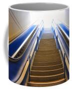 Blue Escalators Coffee Mug