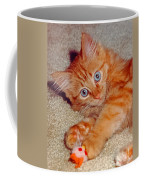 Blue-eyed Kitty Coffee Mug