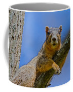 Blue Eyes Coffee Mug by Betsy Knapp