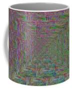 Blue Green Abstract Coffee Mug