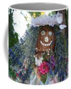 Blue Hair Bride Coffee Mug