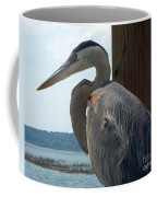 Blue Heron 2 Coffee Mug