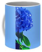 Blue Hortensia Hydrangea Coffee Mug