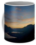 Blue Hour Over The Mountain Coffee Mug