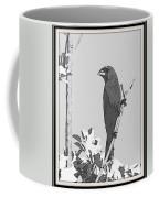 Blue In Black And White Coffee Mug