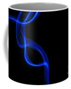 Blue Insence Smoke Coffee Mug