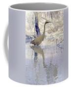 Blue Inverted Coffee Mug