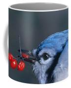 Blue Jay Coffee Mug by Photo Researchers, Inc.