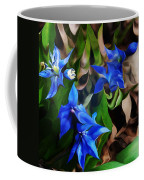 Blue Manipulation Coffee Mug by David Lane