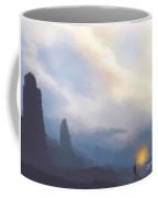 Blue Mountains  Coffee Mug by Pixel  Chimp