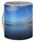 Blue On Blue Coffee Mug