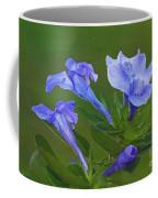 Blue On Green Coffee Mug