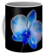 Blue Orchid Bloom Coffee Mug