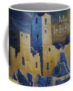Blue Palace Greeting Card Coffee Mug