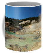 Blue Pools And Funaroles Coffee Mug