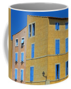 Blue Shutters Martigues France Coffee Mug