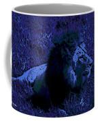 Blue Simba Coffee Mug
