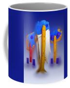 Blue Singers Coffee Mug
