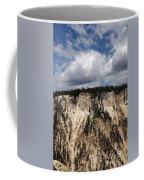 Blue Skies And Grand Canyon In Yellowstone Coffee Mug