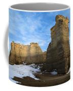 Blue Skies At Monument Rocks Coffee Mug