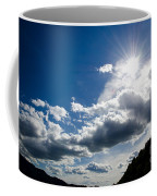 Blue Sky With Clouds Coffee Mug