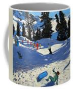 Blue Sledge Coffee Mug