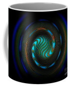 Blue Spiral Coffee Mug