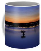 Blue Sunset Mangroves Coffee Mug