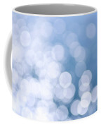 Blue Water And Sunshine Abstract Coffee Mug by Elena Elisseeva