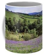 Bluebells In A Field, Sally Gap, County Coffee Mug