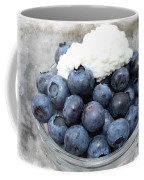 Blueberries And Cottage Cheese Coffee Mug