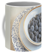 Blueberries In Blue And White China Bowl Coffee Mug