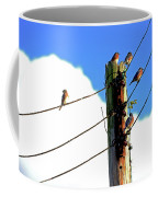 Bluebird Gathering Coffee Mug