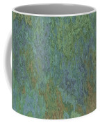Bluegreen Stone Abstract Coffee Mug