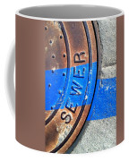 Bluer Sewer Three Coffee Mug