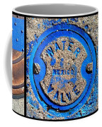 Bluer Sewer Triptych Coffee Mug