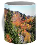 Blueridge Parkway View Near Hwy 215 Coffee Mug