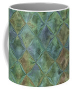 Bluetone Diamonds Coffee Mug