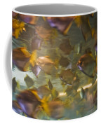 Blurred Image Of Fish Swimming In An Coffee Mug