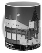 Bmt End Of The Line In Black And White Coffee Mug
