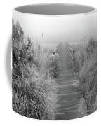 Boardwalk In Quogue Wildlife Preserve Coffee Mug