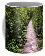 Boardwalk Swamp Coffee Mug