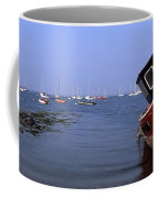 Boat Moored In The Sea, Strangford Coffee Mug