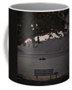 boat on the Lago Maggiore Coffee Mug