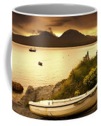 Boat On The Shore At Sunset, Island Of Coffee Mug