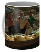 Boatmen In Laos Coffee Mug