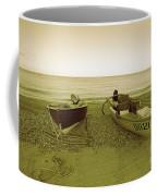 Boats At Beesands Coffee Mug